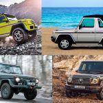 From Brute to Bourgeois: A Brief Visual History of Mercedes-Benz's G-wagen SUV