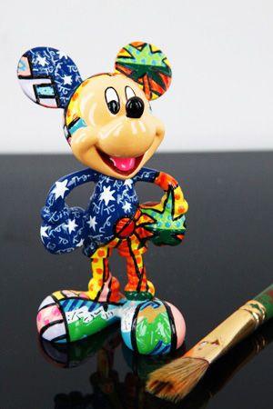 Summer Mickey Figurine  $27.50  Britto