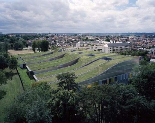 The Marcel Sembat High School. Green ArchitectureLandscape ...