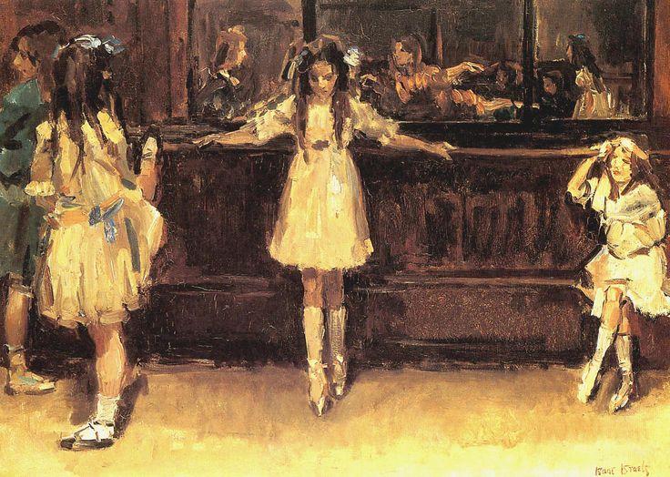 The Athenaeum - ISRAELS, Isaac Dutch (1865-1934)_Ballet School in London