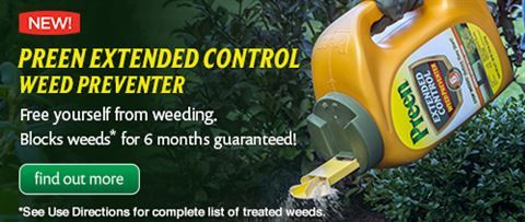 Preen ~ Garden Weed Killer and Weed Preventers, Lawn & Grass Weed Control & Prevention
