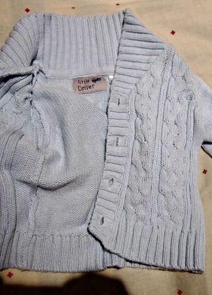 Kupuj mé předměty na #vinted http://www.vinted.cz/deti/miminka-chlapecek/10754877-teplejsi-modry-svetrik-pro-chlapecka