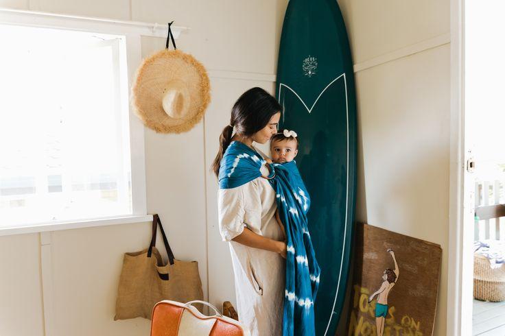 Chekoh Baby Carrier, Indigo Ring Sling