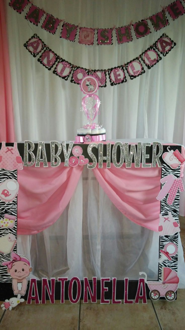 Marco selfie animal print baby shower