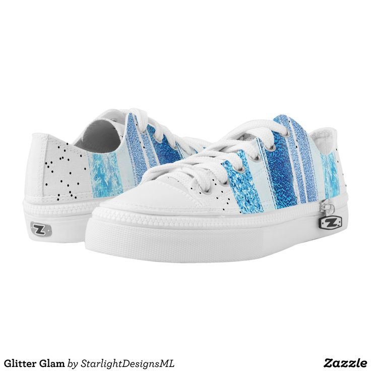 Glitter Glam Low-Top Sneakers