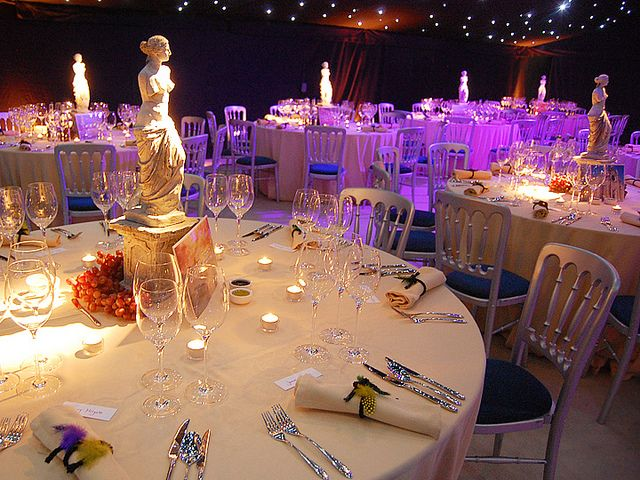 Venice themed table decoration | Flickr - Photo Sharing!