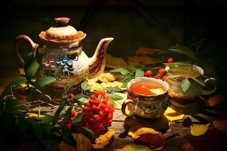 вечерний чай картинки доброго вечера способ заключается