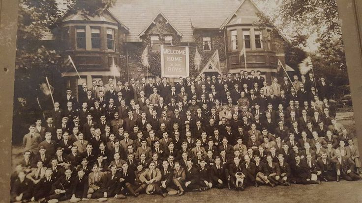 Welcome home party for RWF Veterans c1919.