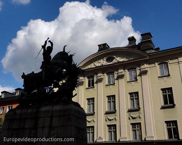 Vieille Ville de Stockholm: Gamla Stan dans la capitale de la Suède