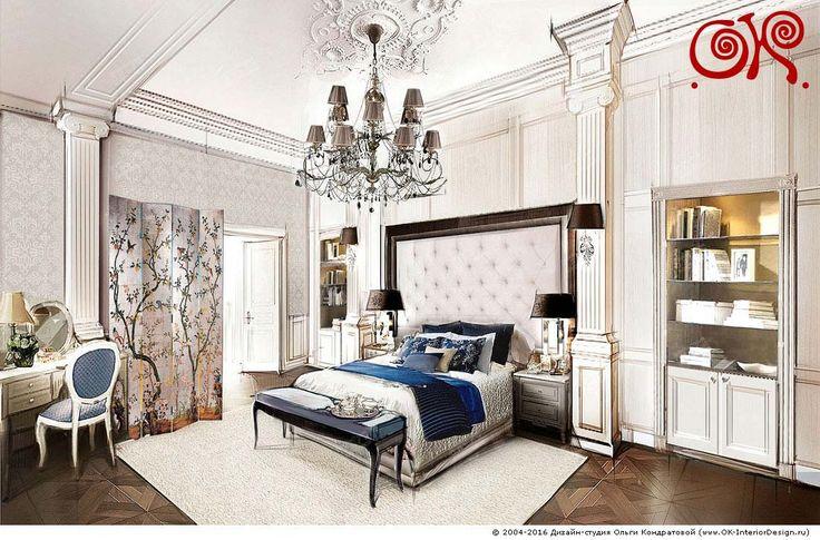Дизайн спальни. Фото 2017, современные идеи