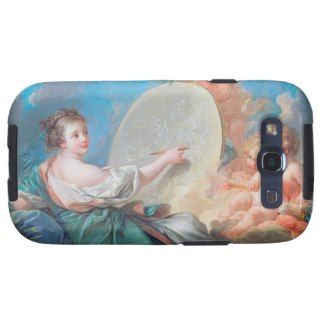 Allegory of painting Boucher Francois rococo lady Samsung Galaxy S3 Cover #allegory #painting #boucher #Paris #France #art #woman #girl #cherubs #angels #rococo #accessory #gifts #classic #customizable #home #decoration