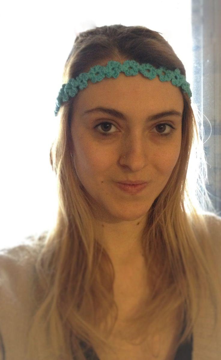 Fascia a fiori per ragazze all'uncinetto di CrochetJuly su Etsy