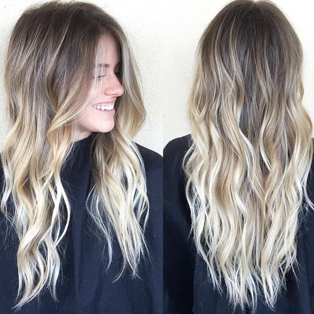 Sandy blonde • by #habitstylist @beckym_hair