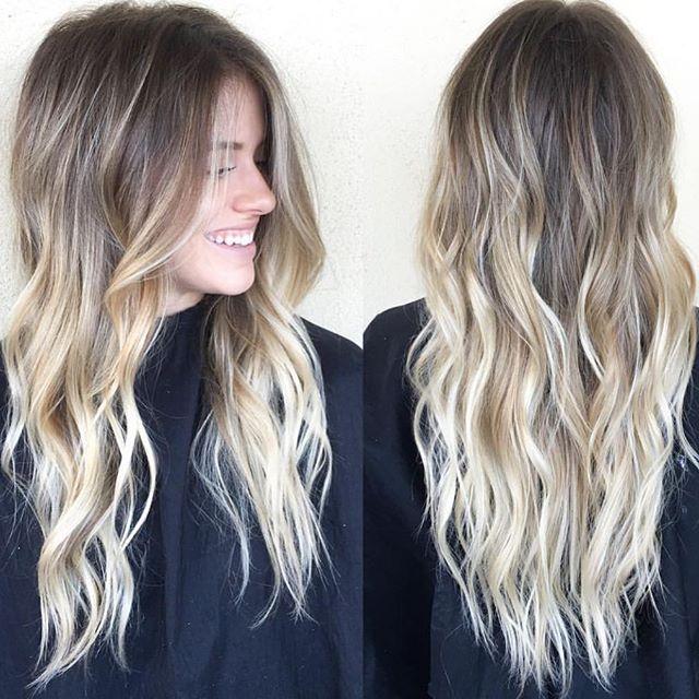 Sandy blonde • by #habitstylist @beckym_hair