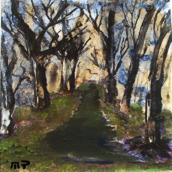 mt royal no  2 water & oil paint mario pompetti 98