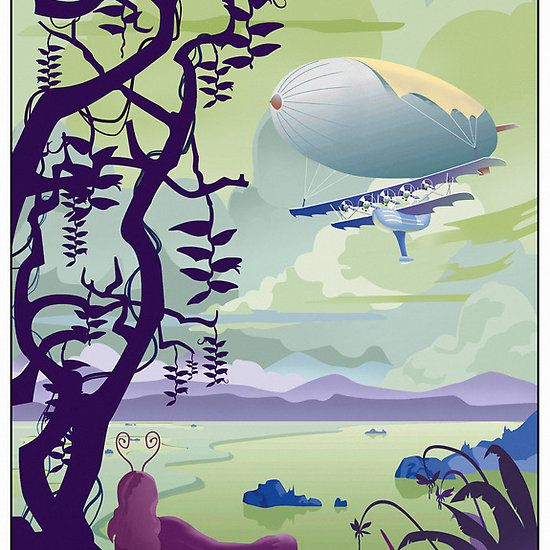 Venus By Air Travel Poster