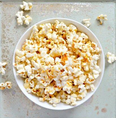 Buffalo Ranch Popcorn From Scratch (No Ranch Dressing Mix)