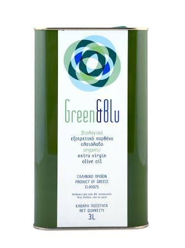 Green & Blu Extra Virgin Olive Oil 3L