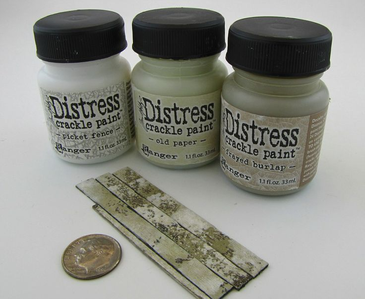 Distress Crackle Paint Used To Create The Illusion Of Weathered Boards Model Trains Crackle Painting Model Railroad