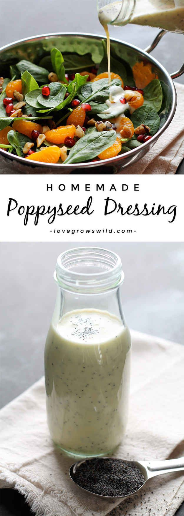 Whole bunch of homemade dressing recipes