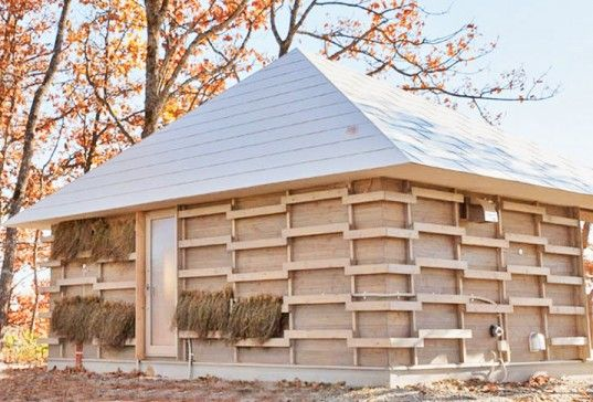 Japanese Students Create Brilliant Straw Home Heated by Compost   Inhabitat - Sustainable Design Innovation, Eco Architecture, Green Building