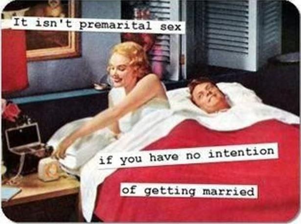 why do people think it's okay to have premarital sex ...