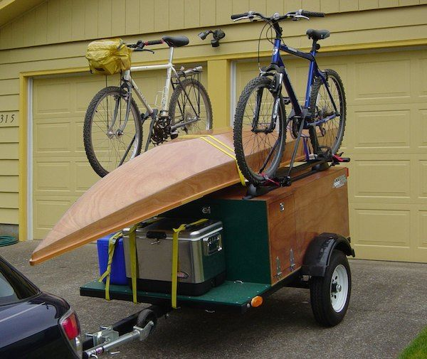 ... , Boxes Trailers, Diy Tent Trailers, Trailers Ideas, Camps Trailers