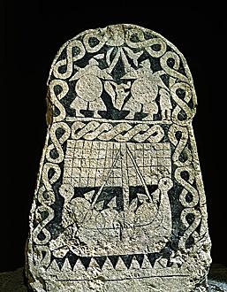 30-01-10/46 Viking picture stone...