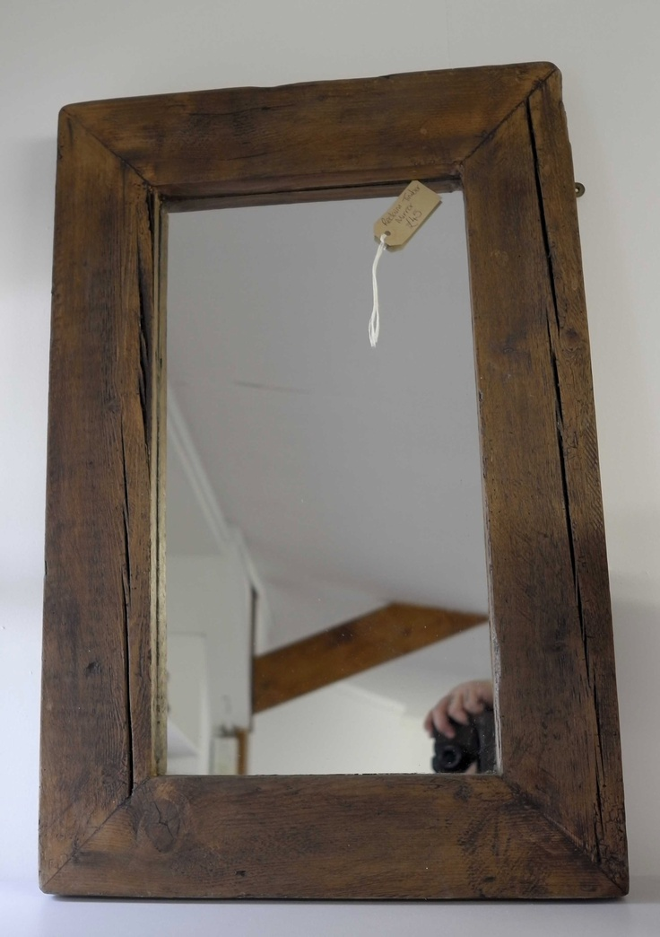 Re-Cycled Timber Frame Mirror