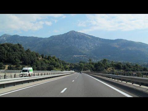 Italy & France: A8 Ventimiglia - Monaco - Nice - YouTube