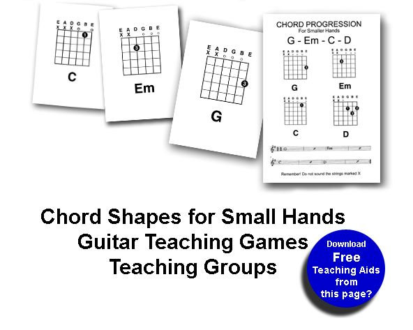 Easy Chords for Small Hands
