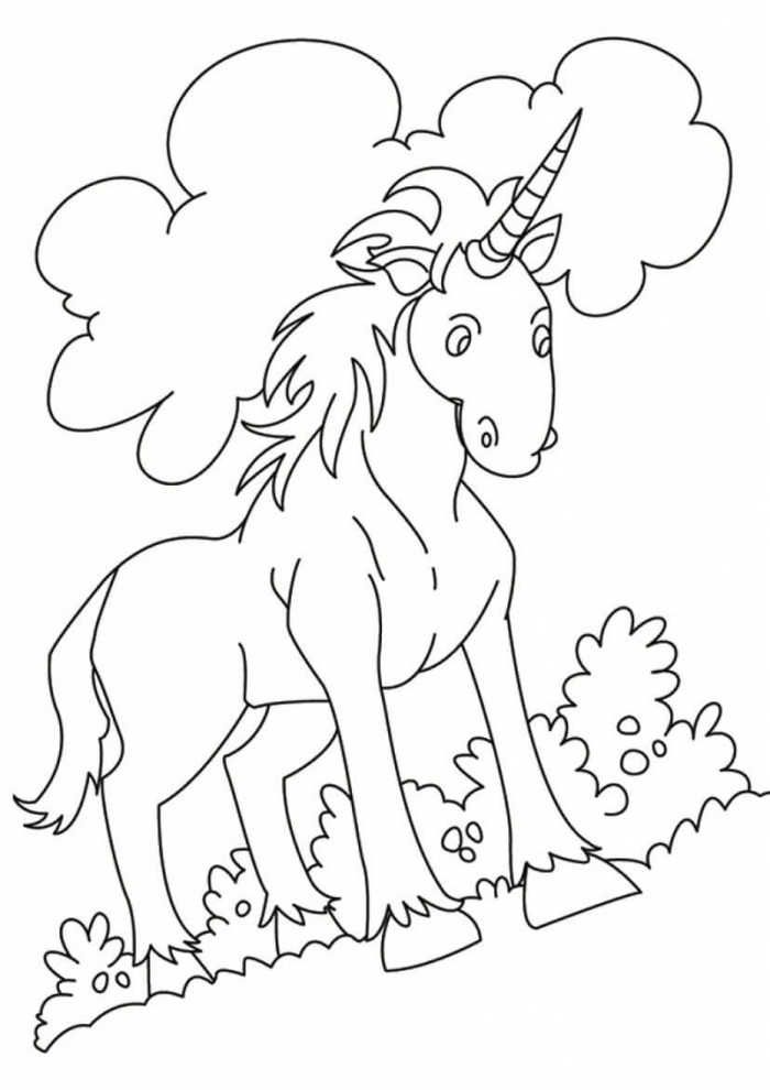 Indian Unicorn Coloring Page Unicorn Coloring Pages Coloring Pages Kids Christmas Coloring Pages