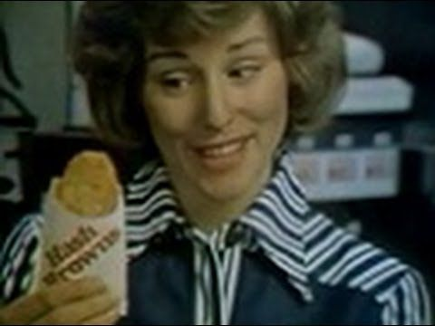 "McDonald's - ""Hash Browns"" (Commercial, 1978) - YouTube"
