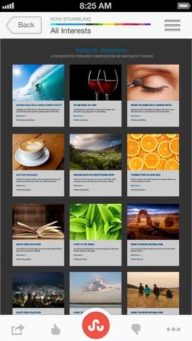 Captura de tela do iPhone 3: Stumbleupon App, Videos, Iphone, Android Phones, Photo, Android App