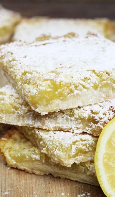 Homemade Lemon Coconut Bars