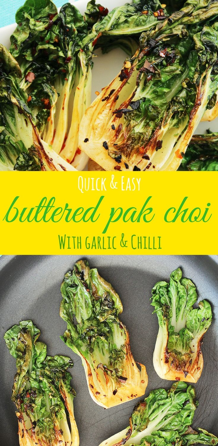 This is a super quick and easy pak choi (bok choy) recipe that packs a punch! Pak choi has a unique flavour, a little bit nutty, a little bit sweet and it's extremely versatile. Time to give it a go if you've never tried it before! On the table in less than 10 minutes! Pak Choi Recipe | Bok Choi Recipe | Vegetable Side Dish | Chinese Cabbage | Chinese Side Dish via @Slow The Cook Down