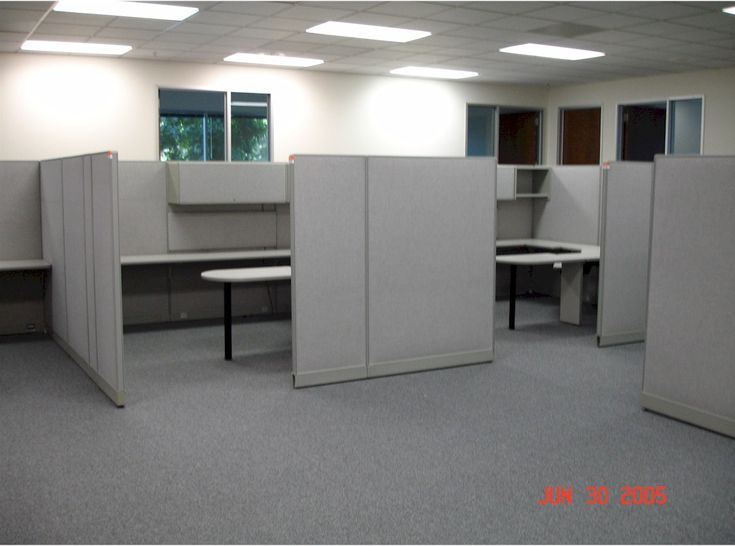 Cubicle layout ideas google search office pinterest for Modern engineering office design