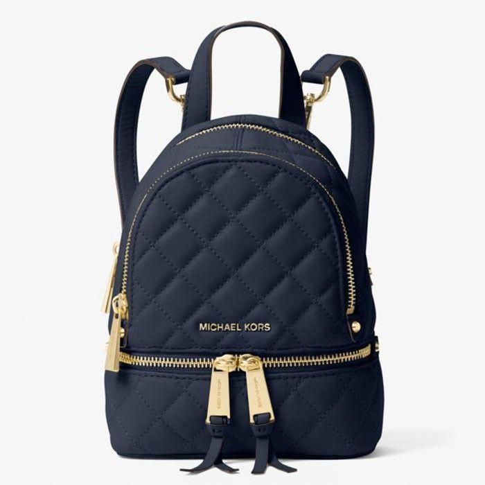 MICHAEL Michael Kors Rhea Extra Small Quilted Leather