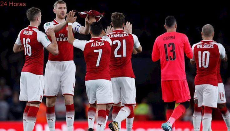 Alexis brinda pase gol en laborioso triunfo del Arsenal ante equipo de Tercera División
