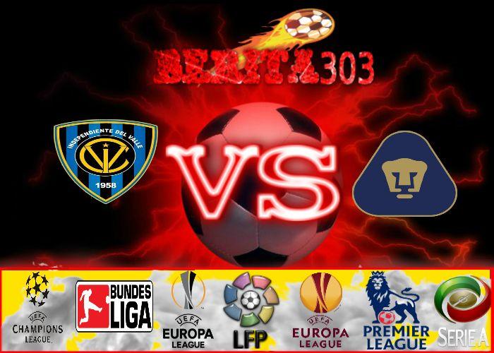 Prediksi Skor Independiente Del Valle vs Pumas UNAM 18 Mei 2016  http://berita303.com/prediksi-skor-independiente-del-valle-vs-pumas-unam-18-mei-2016/