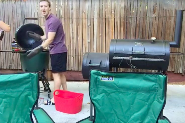 Grilling tips from Mark Zuckerberg, barbecue nerd