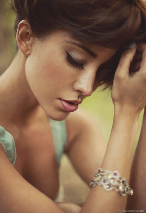 : Face, Inspiration, Girl, Makeup, Beautiful, Julia Kuzmenko, Beauty, Photography