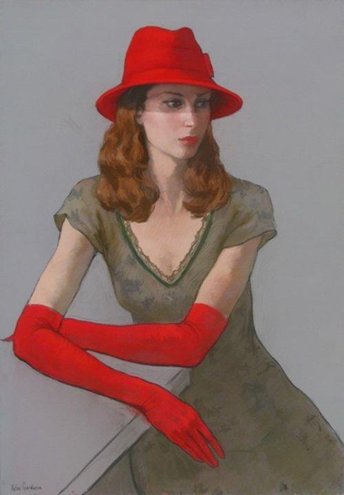 Katya Gridneva 8  - Figurative Paintings by Katya Gridneva | Art and Design