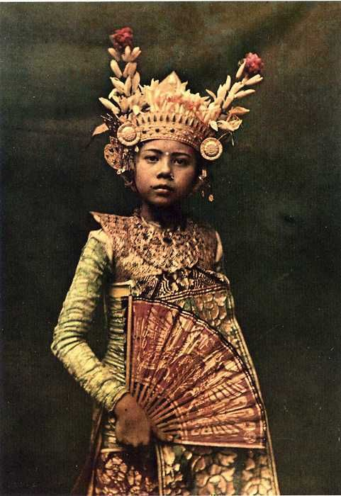 Bali. Early National Geographic image.