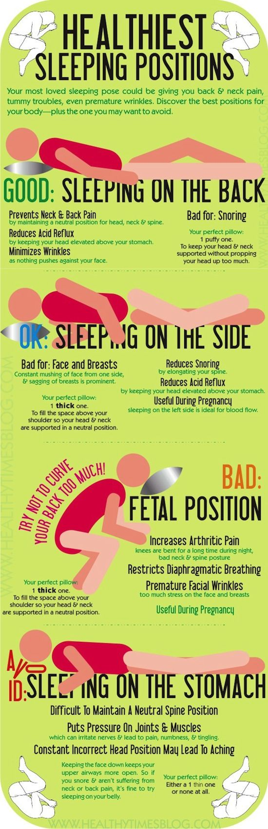 Sleeping Positions That Increase WrinklesPositiveMed   Positive Vibrations in Health