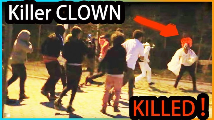 The KILLER Clown PRANK in the HOOD (Almost KILLED)
