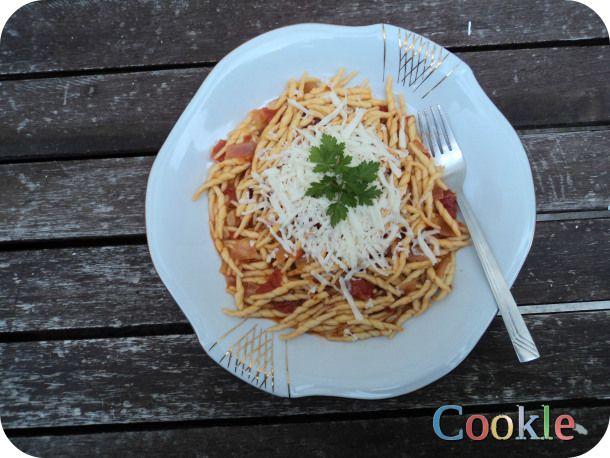 Χιώτικα ζυμαρικα - φυτιλάκια με σκορδάτη σάλτσα και μαστέλο! Cookle IT