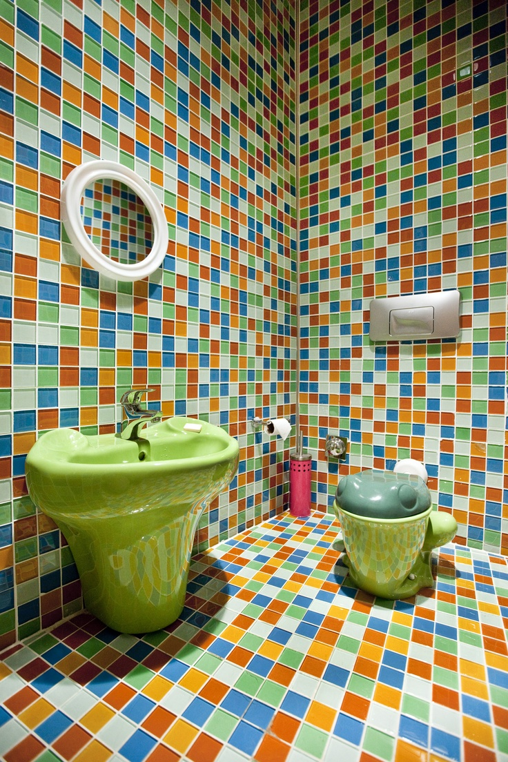 Our uniquely designed kids bathroom at Cosy Restaurant