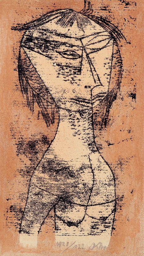 Paul Klee, The Saint of Inner Light  on ArtStack #paul-klee #art