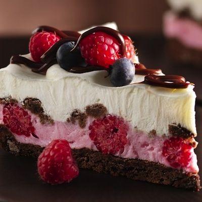 Christmas desserts | Chocolate and Berries Yogurt Dessert…